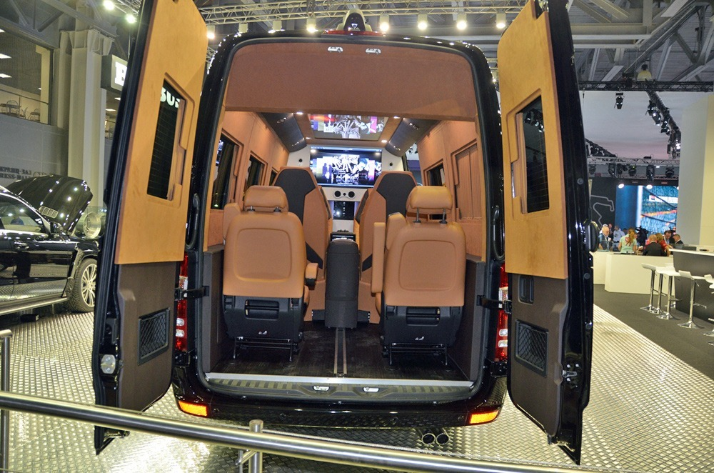 BRABUS Mercedes Sprinter Business Lounge