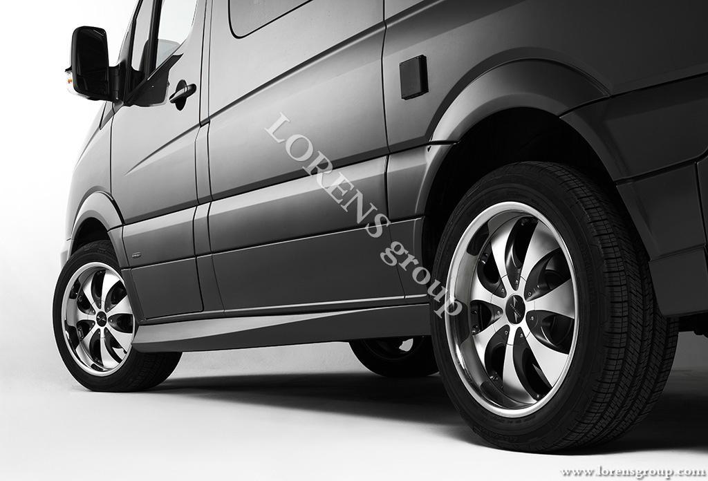 боковые пороги Mercedes-Benz Sprinter VIP
